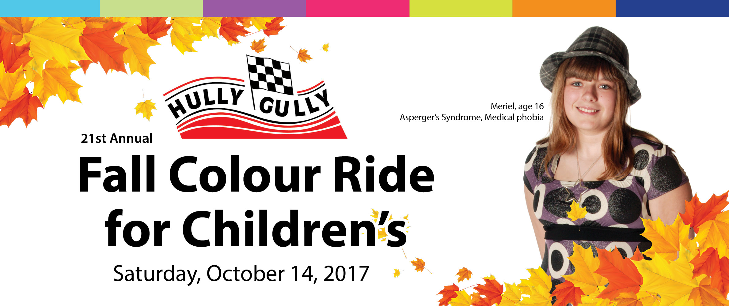 21st Annual Hully Gully Fall Colour Ride for Children's