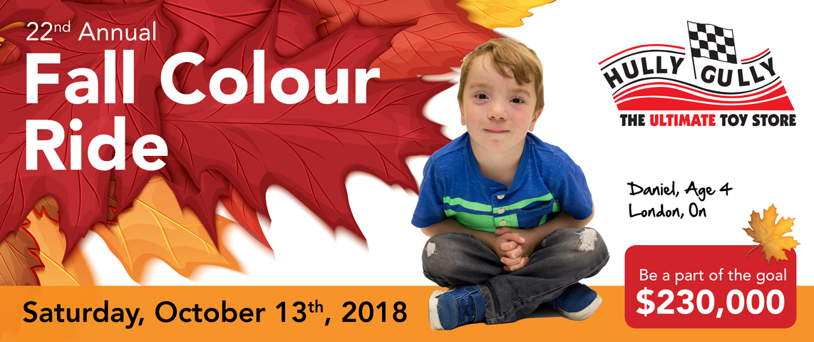 22nd Annual Hully Gully Fall Colour Ride for Children's