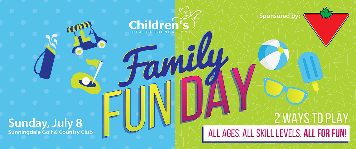 Children's Family Fun Day - Sunday, July 8 at Sunningdale Golf & Country Club