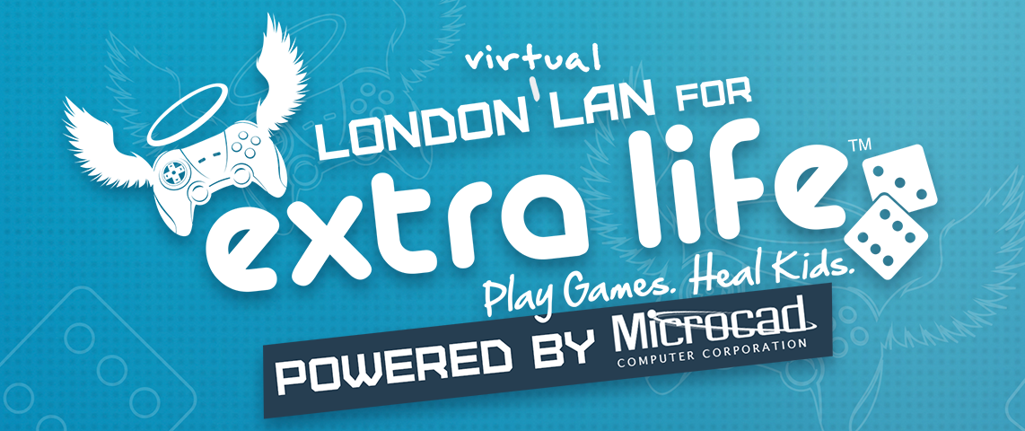 London Virtual LAN for Extra Life: Powered by Microcad