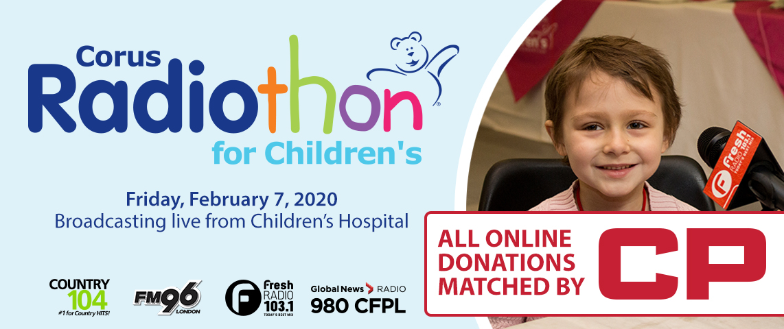 Radiothon - CP will Double Your Donation!