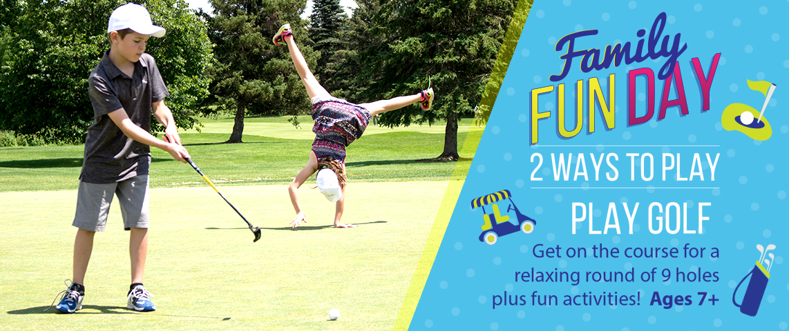 Children's Family Fun Day - Play Golf!